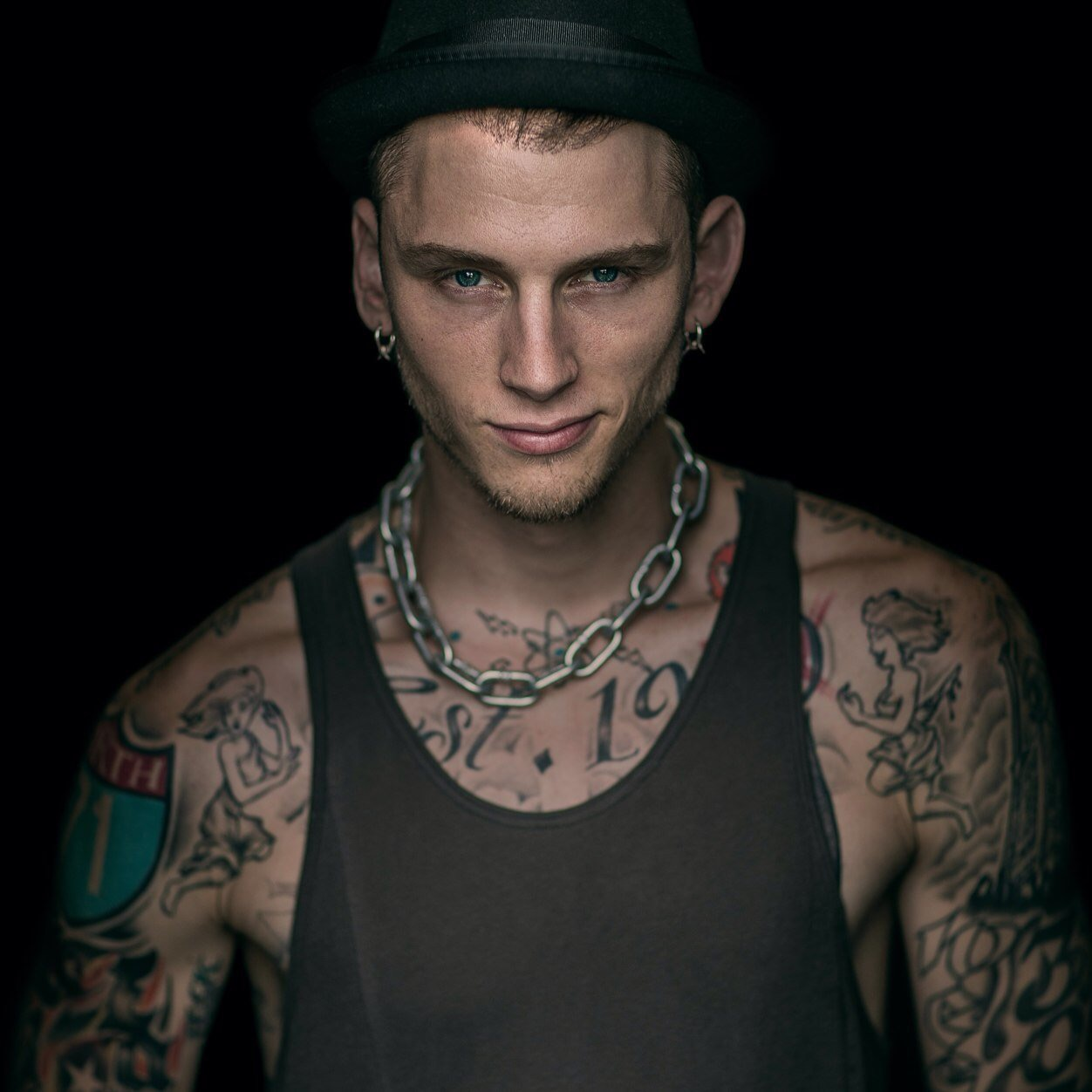 machine gun kelly tattoos - photo #15